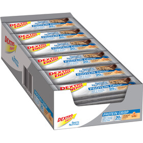Dextro Energy Protein Crisp Box 24x50g, Caramel-Cookies